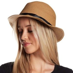 NWT 14th & Union woven Panama hat Nordstrom